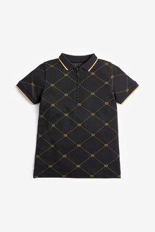 Next Short Sleeve Poloshirt (3-16yrs) - 270338