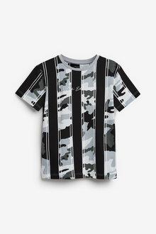 Next Camouflage Vertical Stripe T-Shirt (3-16yrs) - 270341