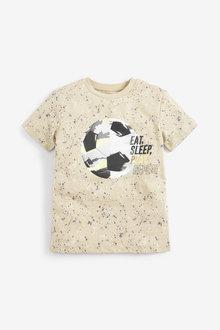 Next Short Sleeve Football T-Shirt (3-14yrs) - 270354