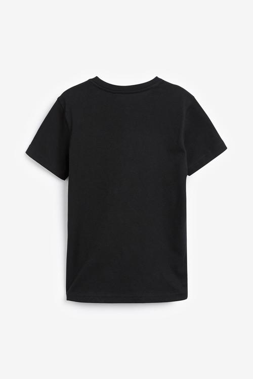 Next Gold Skull T-Shirt (3-16yrs)