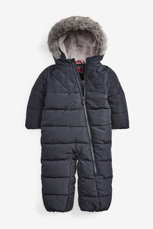 Next Quilted Snowsuit (3mths-10yrs) - 270365