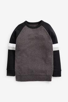 Next Long Sleeve Raglan Sweat Top (3-16yrs) - 270382