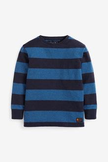 Next Long Sleeve Stripe T-Shirt (3-16yrs) - 270392