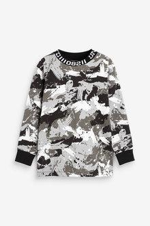 Next High Neck T-Shirt (3-16yrs) - 270395