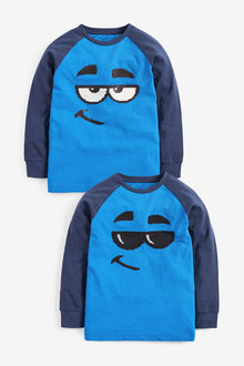 Next Long Sleeve Flippy Sequin T-Shirt (3-14yrs) - 270403