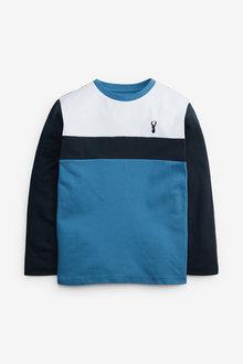 Next Colourblock Long Sleeve T-Shirt (3-16yrs) - 270410
