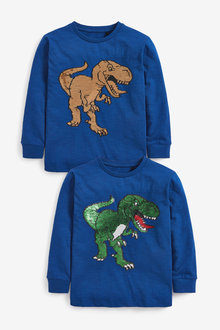 Next Dinosaur Sequin Change T-Shirt (3-14yrs) - 270414