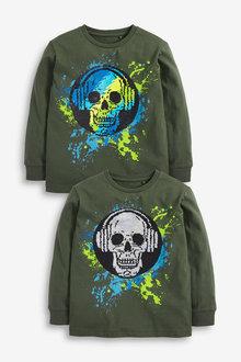 Next Splat Sequin Change T-Shirt (3-16yrs) - 270415