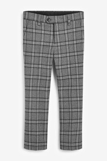 Next Check Suit Trousers (12mths-16yrs) - 270422