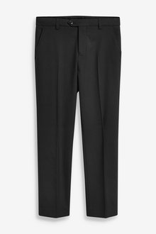 Next Skinny Fit Suit Trousers (12mths-16yrs)-Tailored Fit - 270430