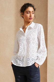 Emerge Broderie Shirt - 270439