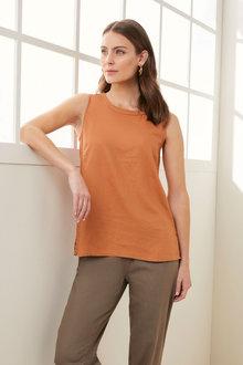 Grace Hill Linen Blend Cami - 270451