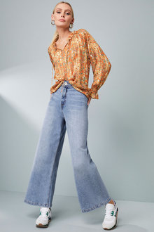 Emerge Wide Leg Jean - 270485
