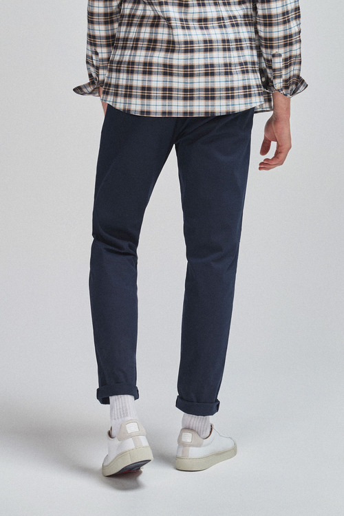 Next Pleat Front Chinos-Tapered Slim Fit