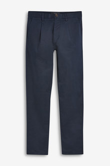 Next Pleat Front Chinos-Tapered Slim Fit - 270555