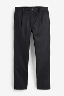 Next Pleat Front Chinos-Straight Fit - 270556