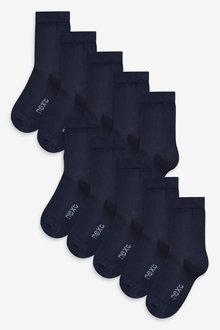Next 10 Pack Cotton Rich Socks (Older) - 270592