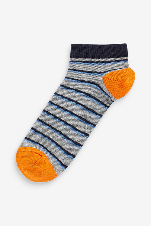 Next 7 Pack Cotton Rich Trainer Socks (Older)