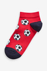 Next 7 Pack Cotton Rich Football Trainer Socks (Older)