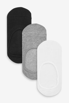Next 7 Pack Cotton Rich Invisible Trainer Socks (Older) - 270602