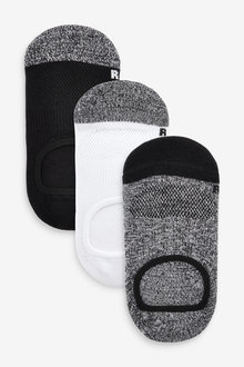 Next 3 Pack Invisible Socks (Older) - 270605