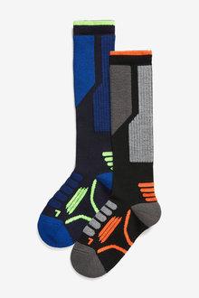 Next 2 Pack Thermal Ski Socks (Older) - 270607