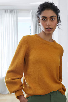 Emerge Puff Sleeve Sweater - 270659