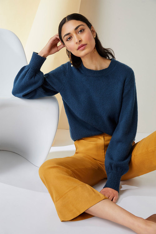 Emerge Puff Sleeve Sweater