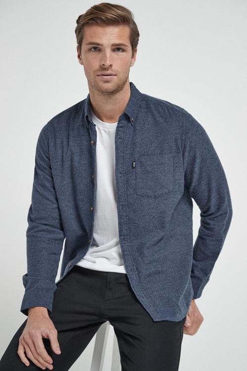 Next Jaspe Long Sleeve Shirt