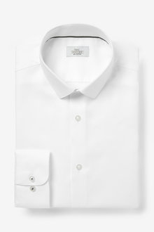 Next Cotton Textured Shirt - 270790