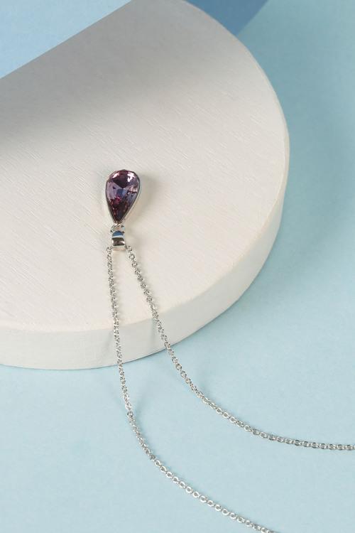 Mestige Tropez Necklace with Swarovski Crystals