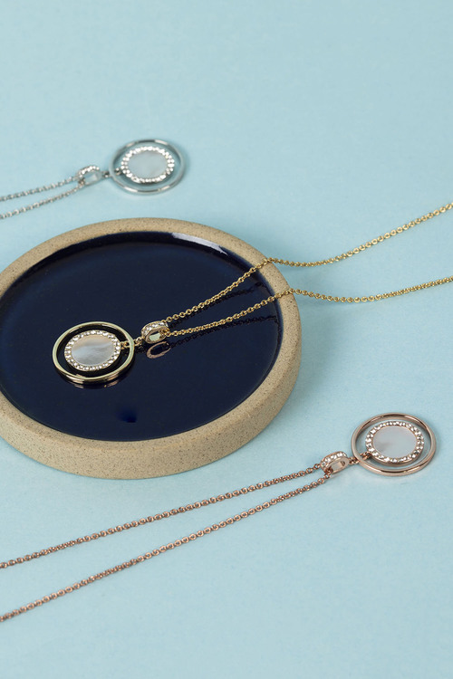 Mestige Touchstone Necklace with Swarovski Crystals