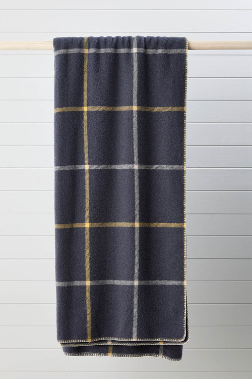 Grid Wool Blanket