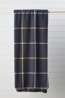 Grid Wool Blanket - 270840
