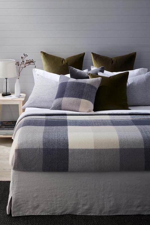 Check Wool Blanket