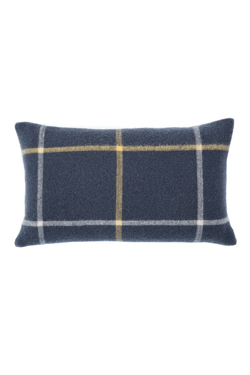 Grid Wool Cushion