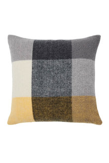 Check Wool Cushion - 270843