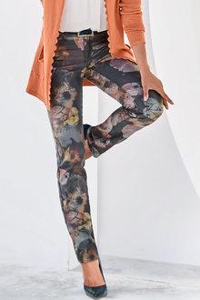 Heine Watercolour Floral Print Pants - 270844