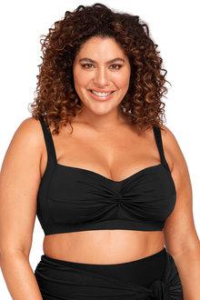 Hues Black Botticelli Bikini Top - 270858