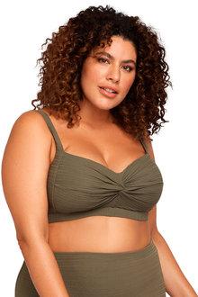 Aria Olive Botticelli Bikini Top - 270871