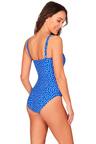 Nip Tuck Swim Pivotal Moment V Neck Wire One Piece Swimsuit