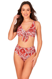 Sakina Faux Knot Bikini Set Swimsuit - 270894