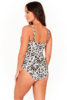 Wild at Heart Cross Front One Piece Swimsuit