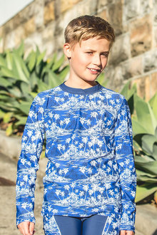 Bluesalt Beachwear Boys Long Sleeve Rash Top - 270932