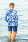 Bluesalt Beachwear Boys Long Sleeve Rash Top