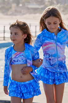 Bluesalt Beachwear Unicorn RashTop - 270933