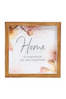 Splosh Flourish Home 3D Frame - 271086