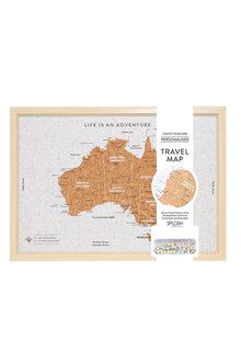 Splosh Travel Board Small Australia Map - 271096
