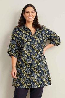 Sara Linen Blend Shirt - 271120