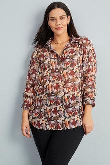 Sara Drop Shoulder Shirt - 271128